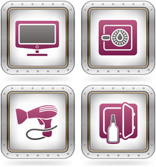 Hotel Related Icons
