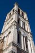 Basilica Cathedral belltower. Ferrara. Emilia-Romagna. Italy.