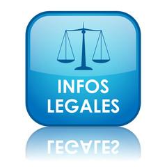 Bouton Web INFOS LEGALES (mentions légales conditions générales)