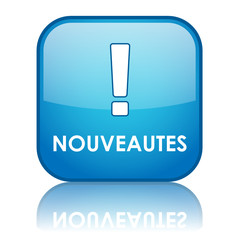 """Bouton Web """"NOUVEAUTES"""" (nouveau publicité découverte tampon)"""