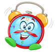 Cartoon alarm clock - 35880264