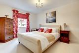 Fototapety Beautiful modern bedroom