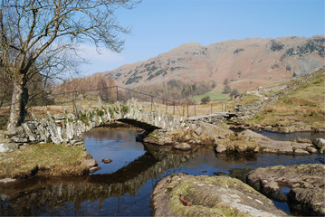 Packhorse Bridge in Little Langdale, Cumbria