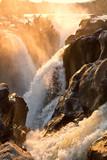 Fototapety Wasserfall am Morgen, (Epupafälle, Namibia)