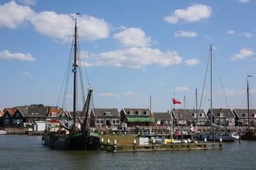 holländisches fischerdorf