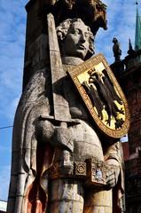 La statua di Rolando a Brema 01