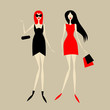 Fashion girls for your design