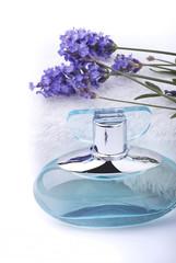 fiori e profumo alla lavanda