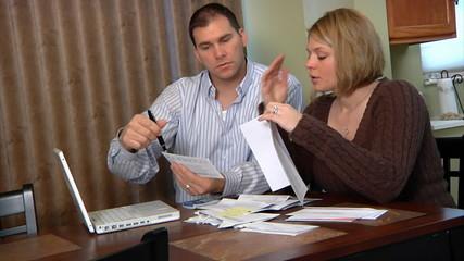 Couple Finance Troubles