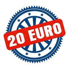 20 Euro stempel