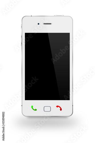 Smartphone weiß