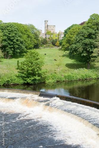 River Wenning & Hornby Castle, Lancashire
