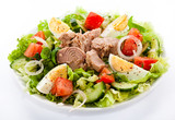 Fototapety Tuna and vegetable salad