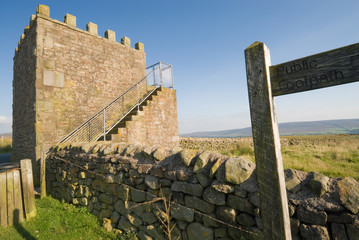 Jubilee Tower near Quernmore, Lancashire