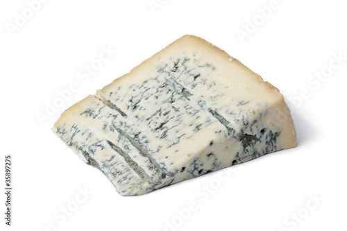 Portion Gorgonzola cheese