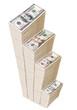 Columns of U.S. dollars..