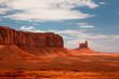 Peaks of rock formations Park of Monument Valley Utah
