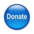 Boton brillante texto Donate