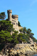 Castle Saint Joan in Lloret De Mar