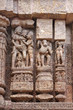 Beautiful erotic stone sculptures at Konark Sun Temple