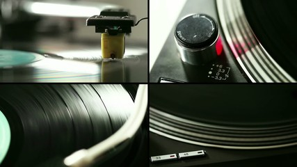 Turntable composition