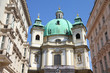 Vienna - Peterskirche church