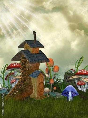 fairy house - 35911029