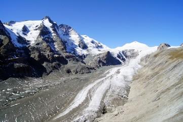Gletscher am Großglockner