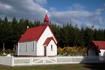 Kleine Kapelle in Waitetoko