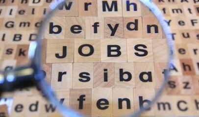Jobsuche Buchstaben