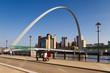 Gateshead Millennium Bridge arch - 35922864