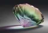 rainbow colored diamond