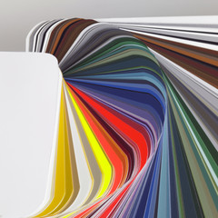 abstract color chart