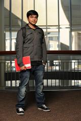 Portrait of Indian Student Indoors