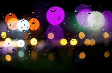 fondo abstracto de luces de colores