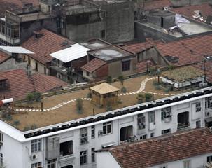roofs in Wuhan