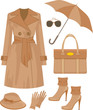 Fashion set. vector, no gradient