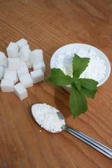 Vie saine - Stévia - Edulcorant - Nutrition