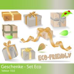 geschenke - set eco