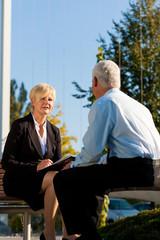 Business Coaching outdoors