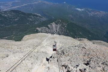 aerial tram cabin