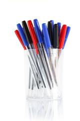 gruppo di penne a sfera