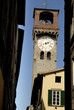 Clock Tower in Lucca Tuscany Italy