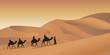 Fototapeten,karawane,wüste,reisen,reiseziel