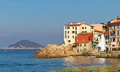 Altstadt von Marciana Marina, Fischerviertel, Insel Elba