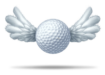 Golf and golfing symbol