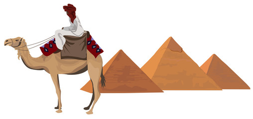 Bedouin and the Pyramids