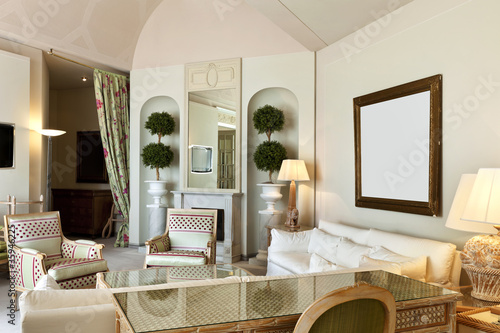 interior luxury apartment, comfortable suite