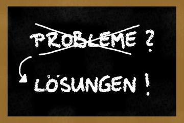 Probleme? Lösungen!