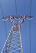 High voltage line, pylon